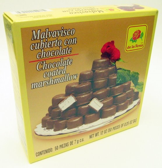 Picture of De la Rosa Chocolate Covered Marshmellow - Item No. 9585