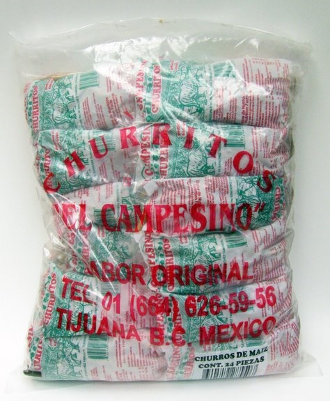 "Picture of Churritos - Churros de Maiz Delgados ""El Campesino"" - 24 Bolsas - Item No. 9591"