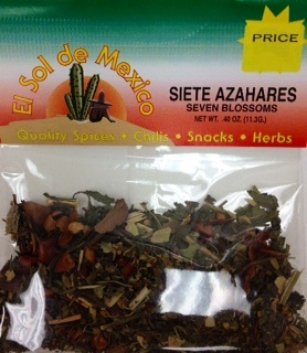 Picture of Seven Blossoms - Siete Azahares by El Sol de Mexico .40 oz - Item No. 9602