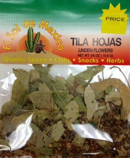 Picture of Linden Flowers - Hojas de Tila El Sol de Mexico 3/8 oz - Item No. 9606