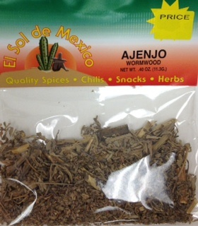 Picture of Ajenjo Herbs - Wormwood by El Sol de Mexico .40 oz&nbsp;- Item No.&nbsp;9622
