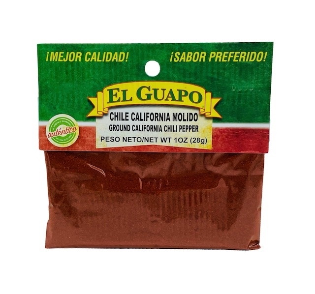 Picture of California Chili Powder by El Sol de Mexico - Item No. 9626