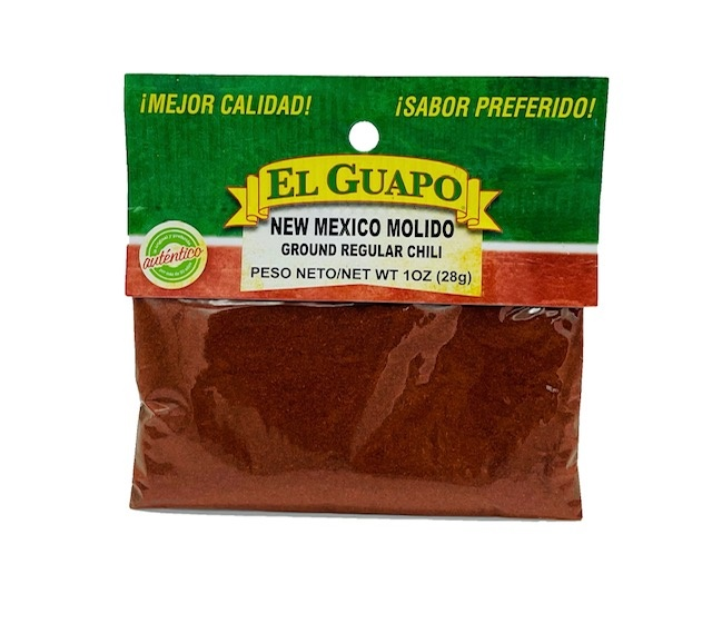 Picture of New Mexico Chili Powder by El Sol de Mexico .80 oz - Item No. 9632
