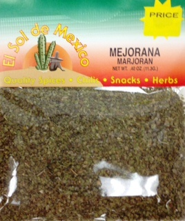 Picture of Mejorana- Marjoran Herb by El Sol de Mexico .40 oz&nbsp;- Item No.&nbsp;9633