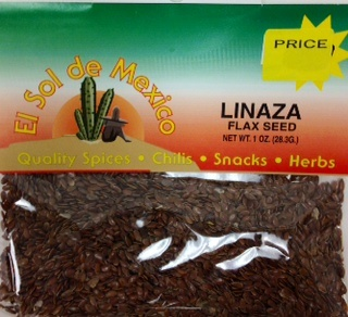 Picture of Linaza - Flax Seed by El Sol de Mexico 1 oz - Item No. 9635