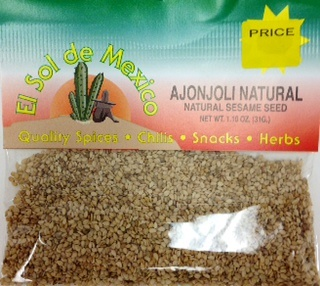 Picture of Sesame Seeds Ajonjoli by El Sol de Mexico - Item No. 9637