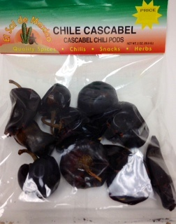 Picture of Chile Cascabel Dried Chile Pepper by El Sol de Mexico 2 oz. - Item No. 9657