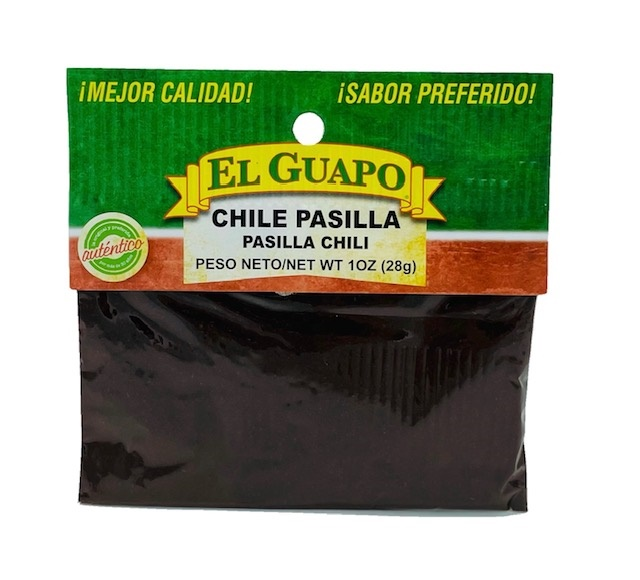 Picture of Ground Pasilla Chili Powder by El Sol de Mexico .80 oz.&nbsp;- Item No.&nbsp;9674