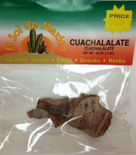 Picture of Cuachalalate by El Sol de Mexico .40 oz - Item No. 9692