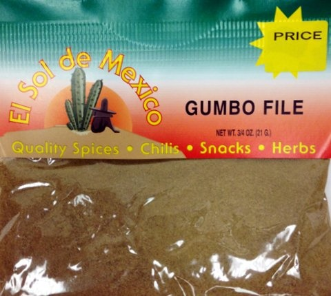 Picture of Gumbo File by El Sol de Mexico 3/4 oz. - Item No. 9816