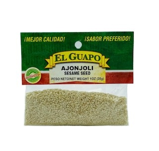 Picture of Sesame Seeds - Ajonjoli by El Sol de Mexico - Item No. 9826