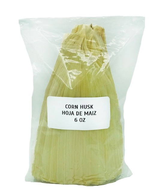 Picture of Corn Husks Shells No. 1 for Tamales 6 oz - Hojas para Tamal&nbsp;- Item No.&nbsp;9831
