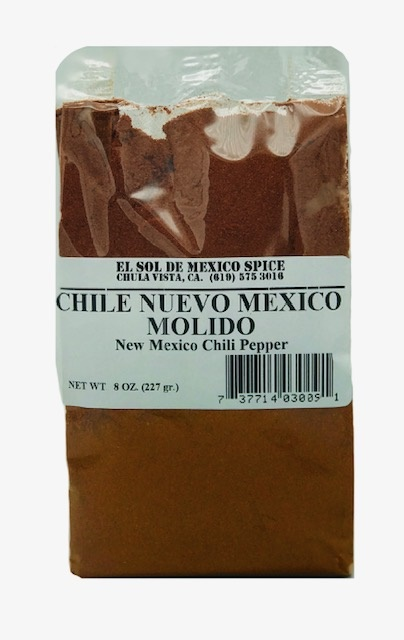 Picture of New Mexico Ground Chili 8 oz. - Item No. 9834