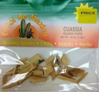Picture of Cuasia Herb Tea by El Sol de Mexico - Acacia - Quasia  .40 oz.&nbsp;- Item No.&nbsp;9842