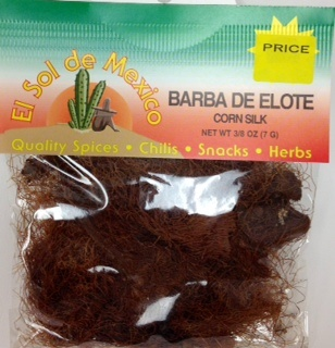 Picture of Barba de Elote Herb Tea by El Sol de Mexico 3/8 oz - Item No. 9844