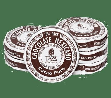 Picture of Taza Cacao Puro Chocolate Mexicano 2.7 oz&nbsp;- Item No.&nbsp;98456-00139