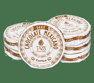 Picture of Taza Coffee Chocolate Mexicano 2.7 oz - Item No. 98456-00155