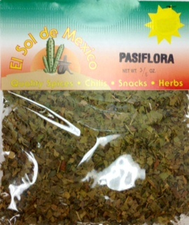 Picture of Pasiflora Herbs Pasiflorina by El Sol de Mexico 3/8 oz. - Item No. 9848