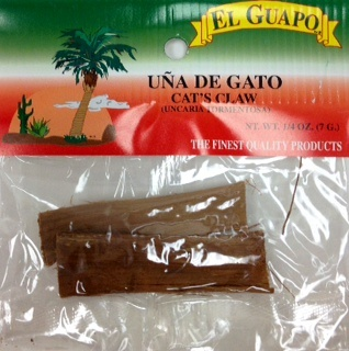 Picture of Una de Gato - Cat's Claw by El Guapo 1/4 oz. - Item No. 9878