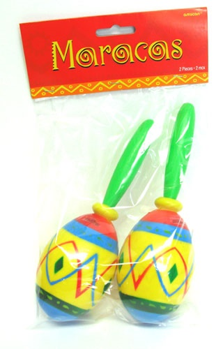 Picture of Fiesta Maracas Party Favor 2 Pieces&nbsp;- Item No.&nbsp;ams-391083