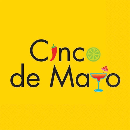 Picture of Cinco de Mayo Beverage Napkins Pack of 16 - Item No. ams-509562-bn