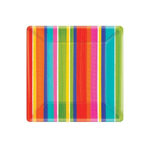 Picture of Del Sol Impressions Square Plates 7