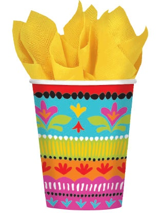 Picture of Fiesta Brights Cups 9 oz Pack of 8&nbsp;- Item No.&nbsp;ams-584415-cup