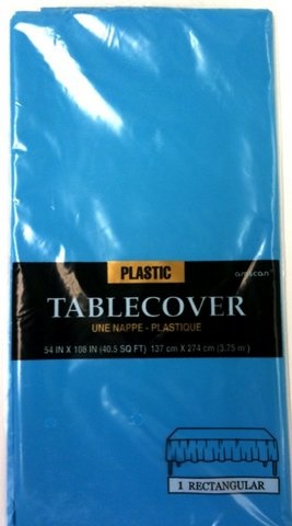 Picture of Plastic Table Cover Caribbean 54