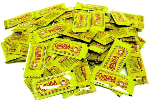 Picture of Cholula  Hot Sauce in Sample Pouches 50 count&nbsp;- Item No.&nbsp;cholula-samples