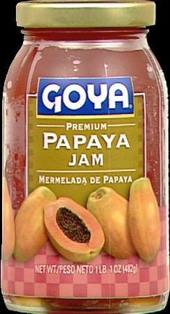 Picture of Goya Papaya Jam 17 oz - Item No. goya-2118