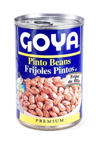 Picture of Goya Pinto Beans - Frijoles Pintos 15.5 oz - Item No. goya-2437