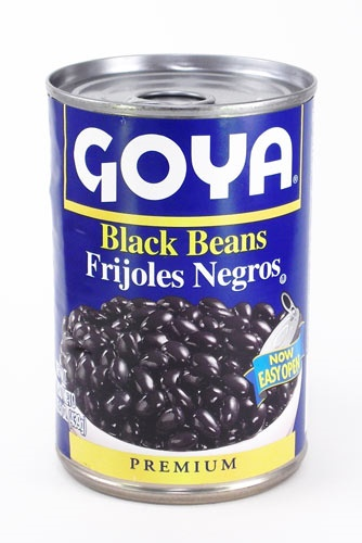 Picture of Goya Black Beans- Frijoles Negros 15.5 oz - Item No. goya-2466