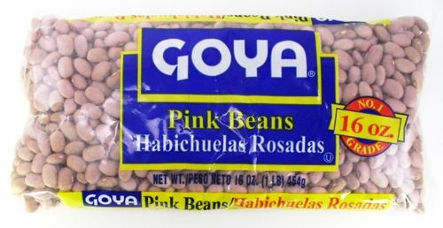 Picture of Goya Pink Beans - Habichuelas Rosa 16 oz - Item No. goya-2477