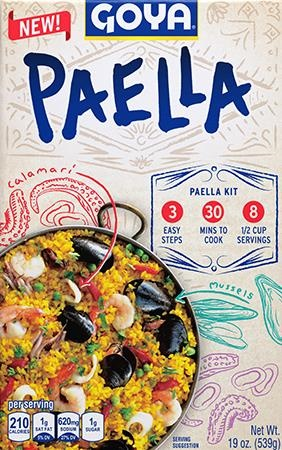 Picture of Goya Paella Valenciana Dinner Kit 19 oz - Item No. goya-2660