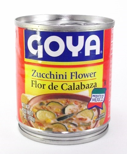 Picture of Goya Zucchini Flower - Flor de Calabaza 7 oz - Item No. goya-2873