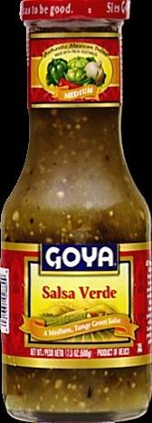 Picture of Goya Salsa Verde 17.6 oz&nbsp;- Item No.&nbsp;goya-2889