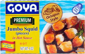 Picture of Goya Octopus in Olive Oil 4 oz - Item No. goya-3637