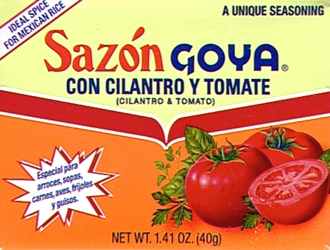 Picture of Goya Cilantro and Tomato Seasoning 1.41 oz - Item No. goya-3786