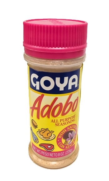 Picture of Goya Adobo Seasoning Mix with Saffron 8 oz - Item No. goya-3856