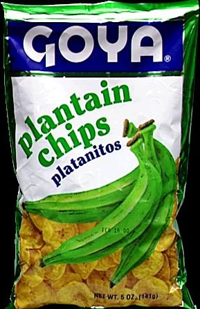 Picture of Goya Plaintain Chips 5 oz - Item No. goya-4925