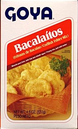 Picture of Goya Bacalaitos - Bacalao 4.5 oz - Item No. goya-5098