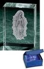 Picture of Our Lady of Guadalupe Lasered Glass Paperweight - Item No. hd777