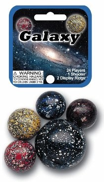 Picture of Galaxy Marbles Game Net (Canicas)  6.25&quot;h x 2.75&quot;w x 1.5&quot;d&nbsp;- Item No.&nbsp;marbles-77590