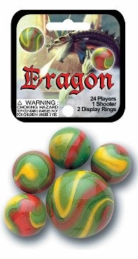 Picture of Dragon Marbles Game Net (Canicas) 6.25