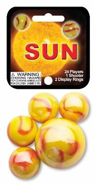 "Picture of Sun Marbles Game Net (Canicas) 6.25""h x 2.75""w x 1.5""d - Item No. marbles-77747"