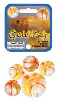 Picture of Goldfish Marbles Game Net (Canicas) 6.25&quot;h x 2.75&quot;w x 1.5&quot;d&nbsp;- Item No.&nbsp;marbles-77781