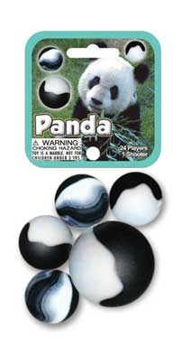 Picture of Panda Marbles Game Net (Canicas) 6.25&quot;h x 2.75&quot;w x 1.5&quot;d&nbsp;- Item No.&nbsp;marbles-77782