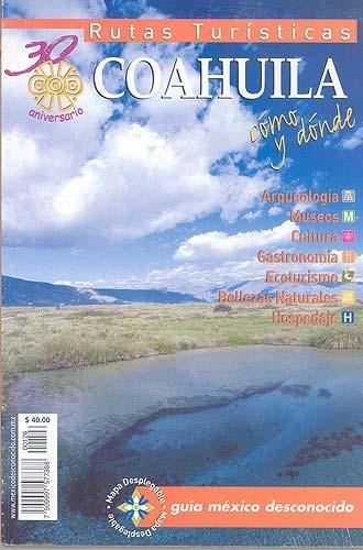 Picture of Rutas Turisticas - Coahuila Mexico Desconocido- Item No.md-126
