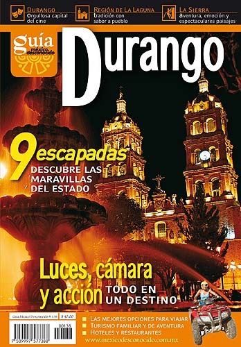 Picture of Rutas Turisticas - Durango Mexico Desconocido - Item No. md-138