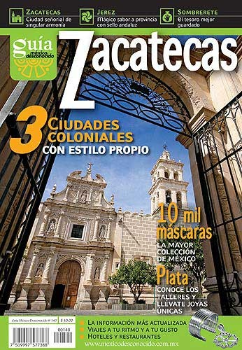 Picture of Rutas Turisticas - Zacatecas Mexico Desconocido&nbsp;- Item No.&nbsp;md-140